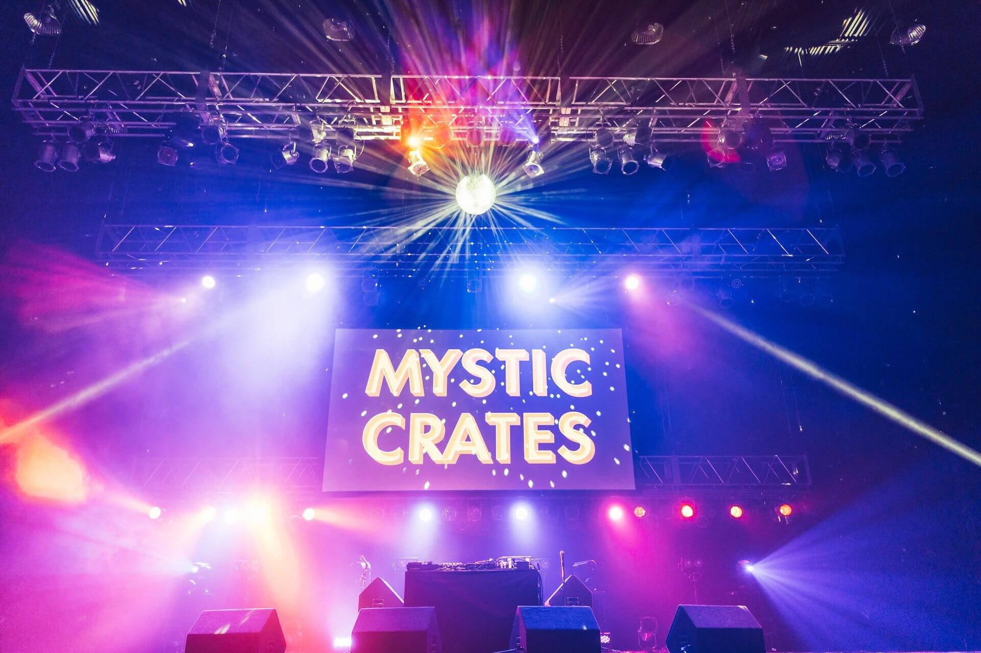 レコード市と音楽パフォーマンスを同時に楽しめるレコード・フェス:Discogs Presents Mystic Crates