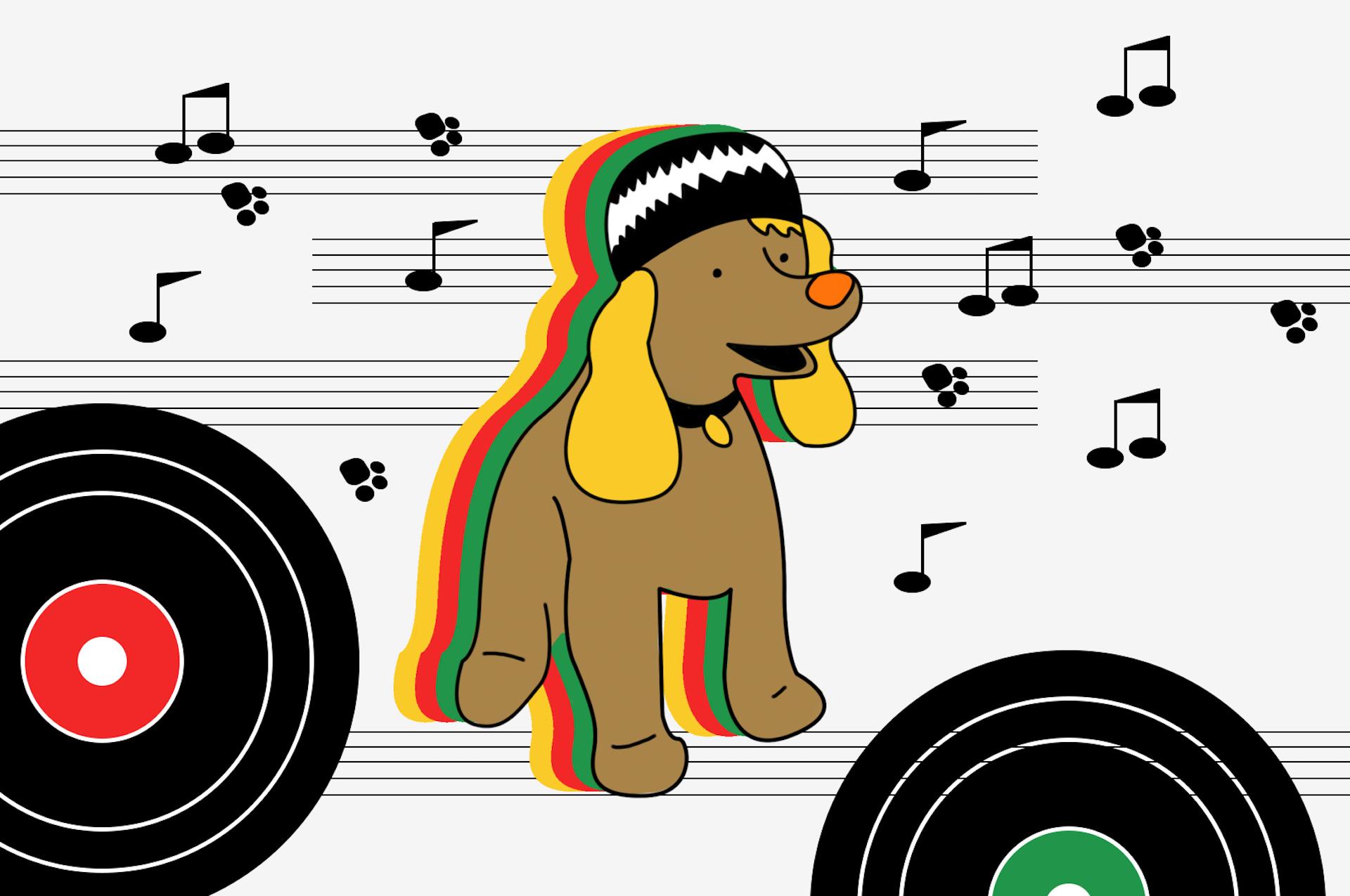 「犬はレゲエでチルする」説。犬の耳と心にいい音楽の話。
