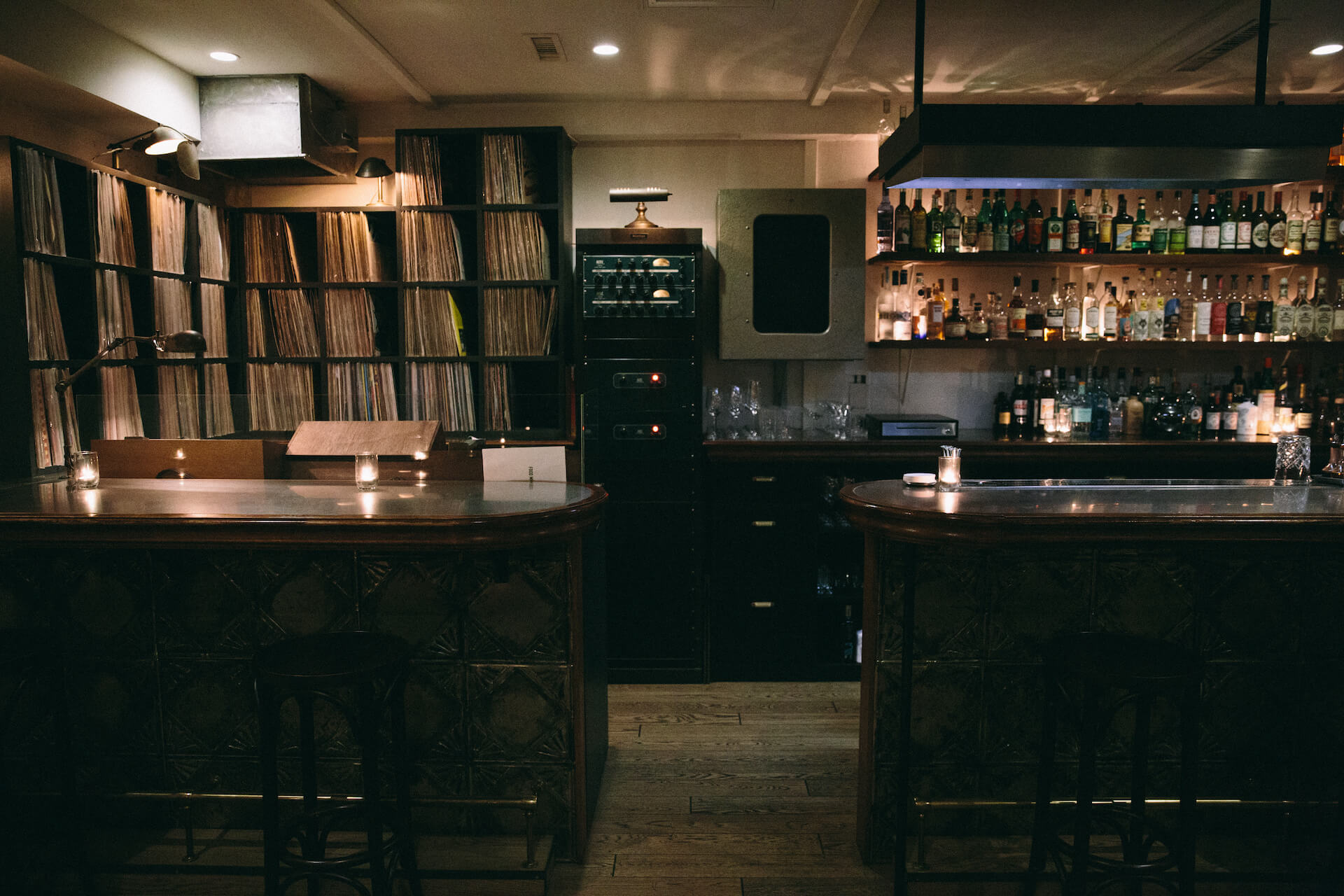 レコードとお酒 & バーテンダーのいい話:Vol.1 森岡賢二_INC COCKTAILS