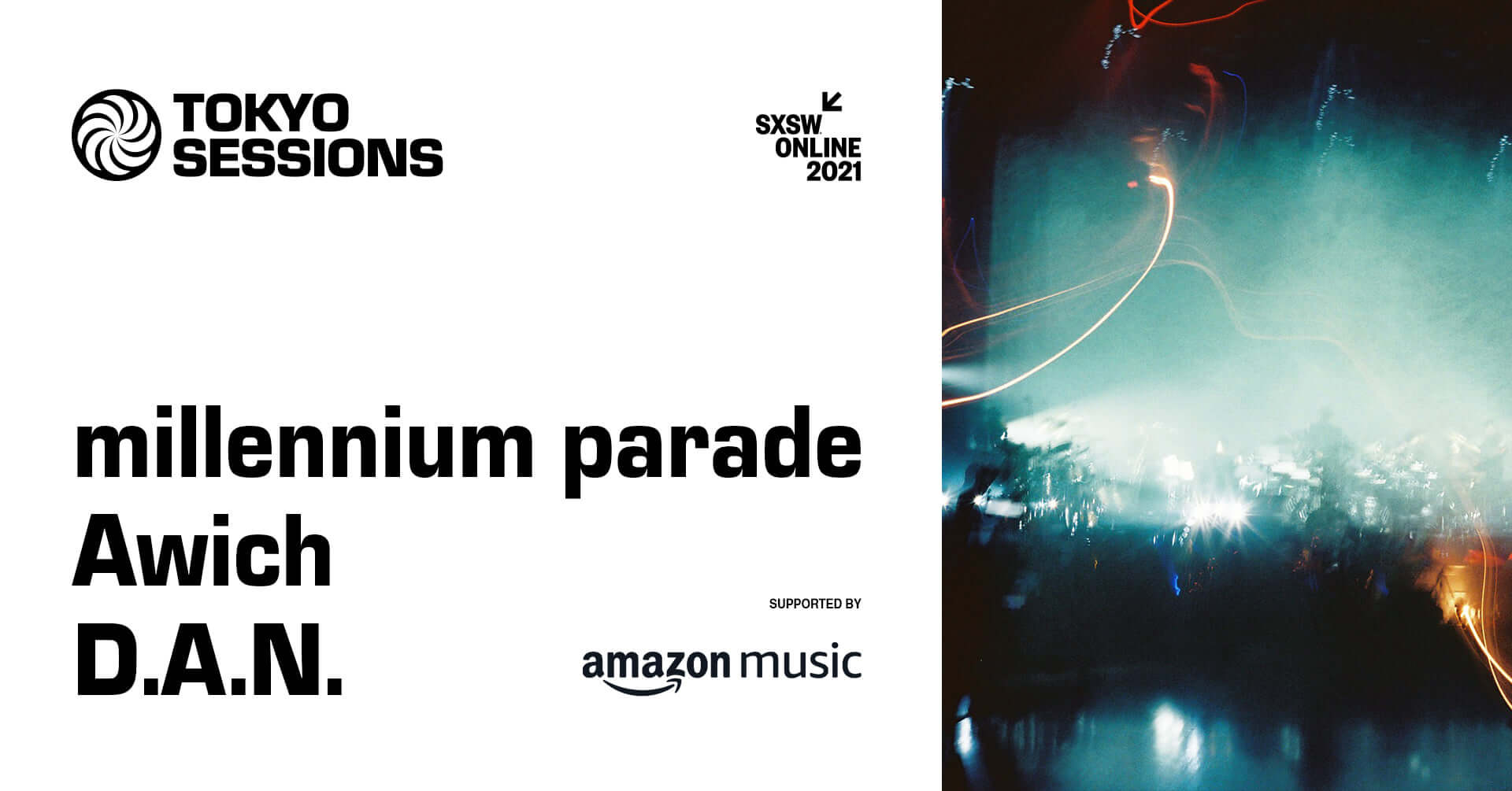 SXSW Online 2021「TOKYO SESSIONS」にmillennium parade、Awich、D.A.N.が出演