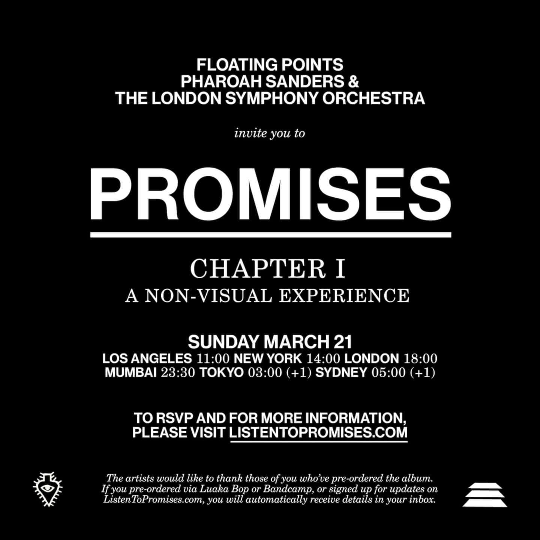 フローティング・ポインツとファラオ・サンダースによる共作『Promises』が3月26日にリリース