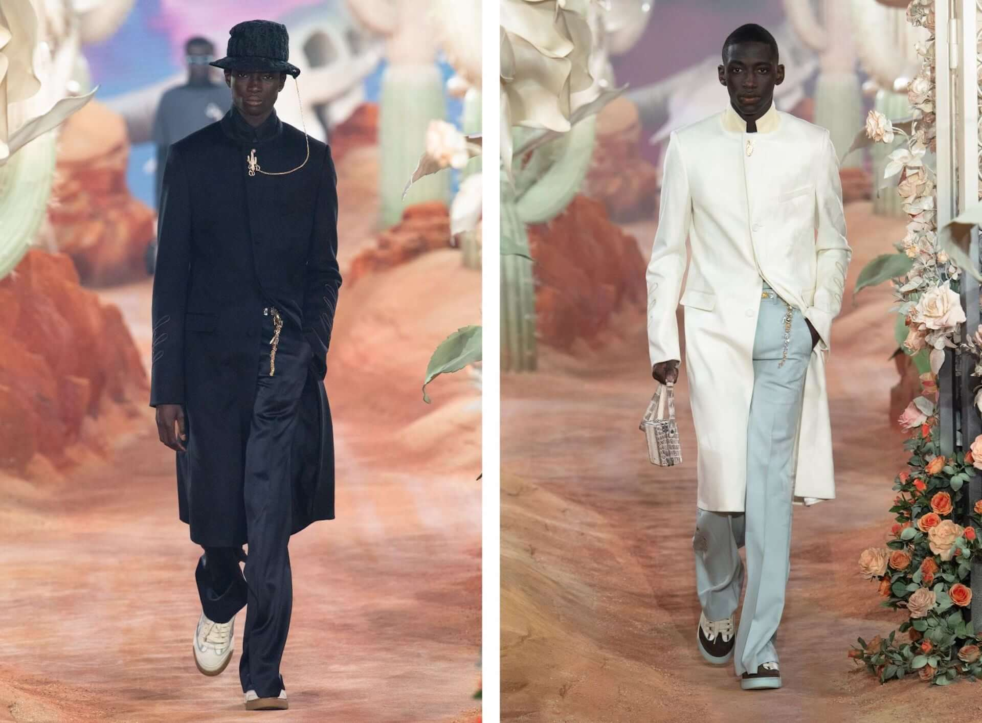 DiorがTravis Scottとコラボレーションし、サマー2022メンズ コレクションショーを開催!
