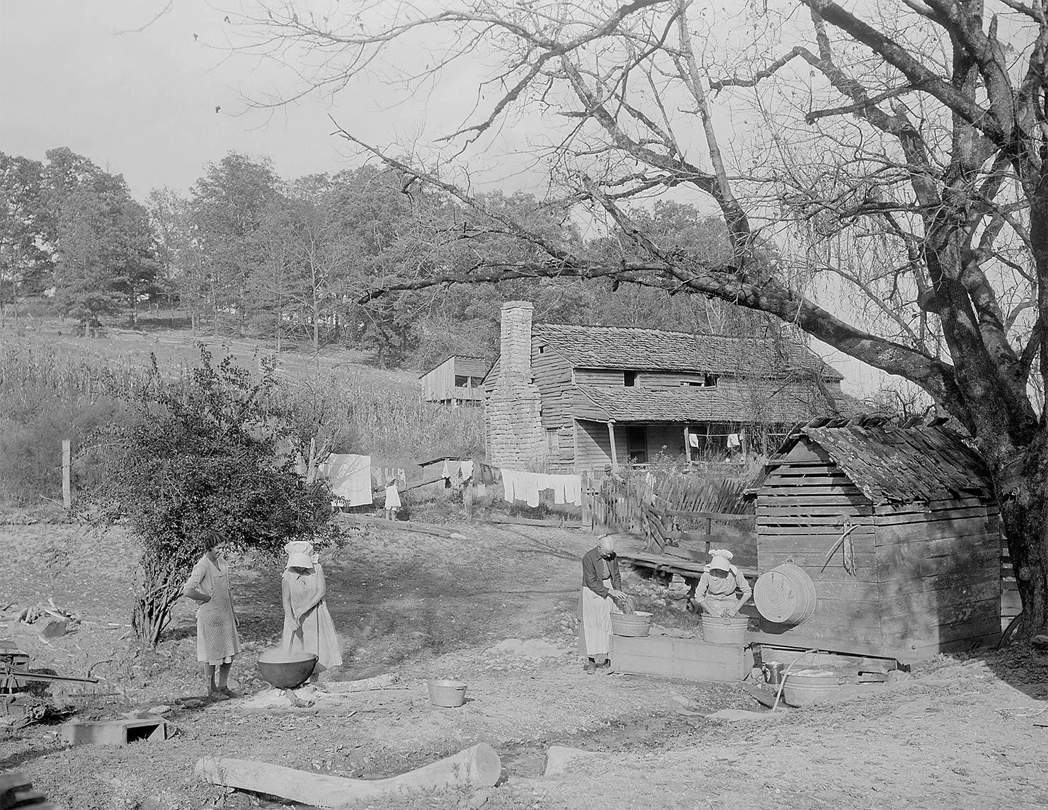 テネシー州アンダーソンビルの家屋敷