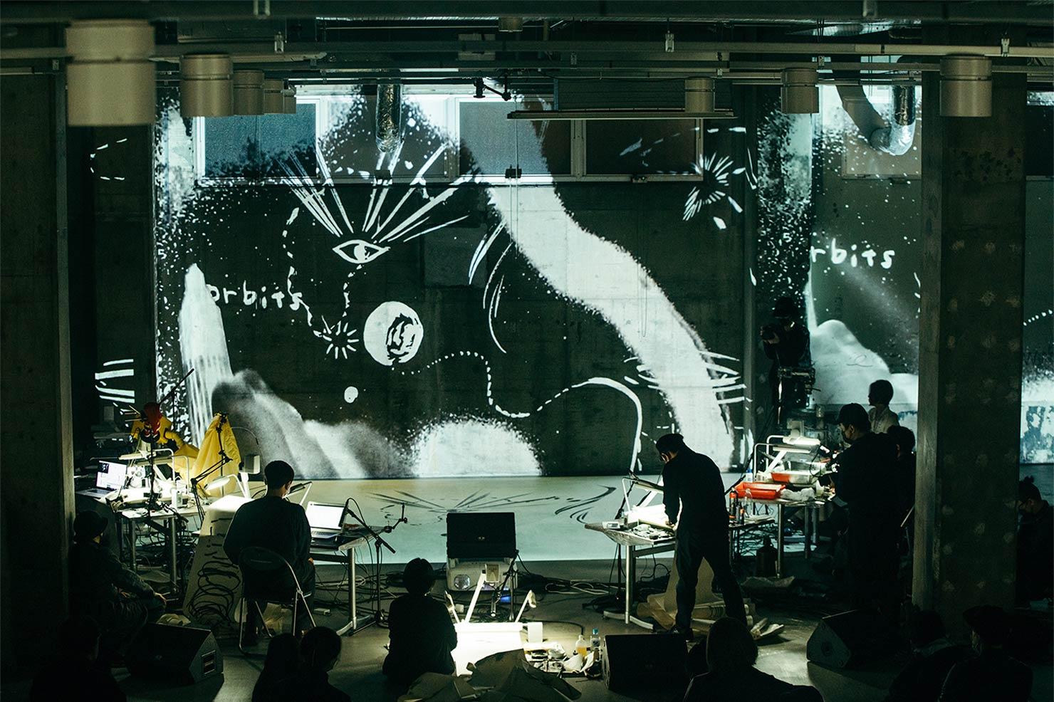 TOKYO CANAL LINKS「ドローイング・オーケストラ/Drawing Orchestra featuring Abdelkader Benchamma」