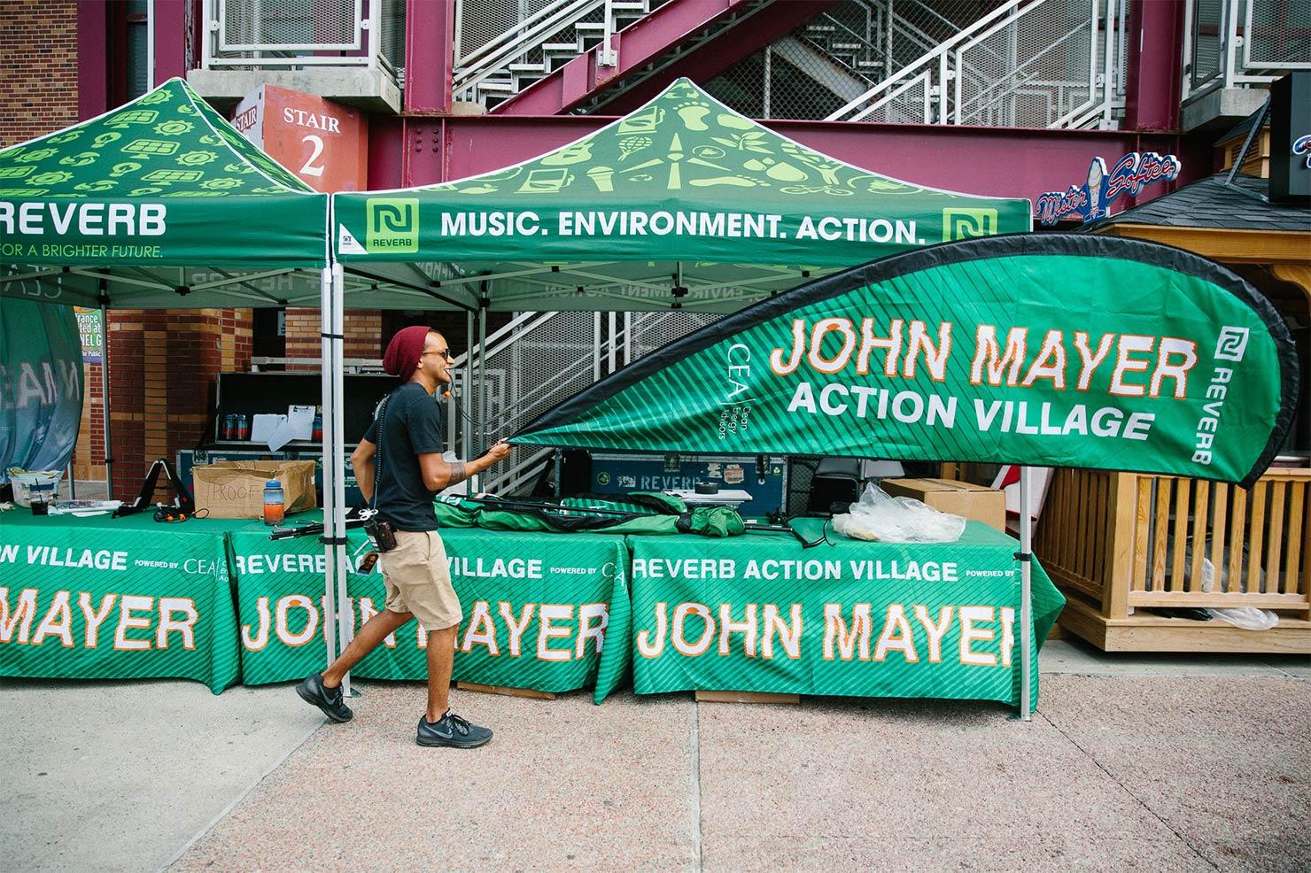 John Mayerのライブ会場