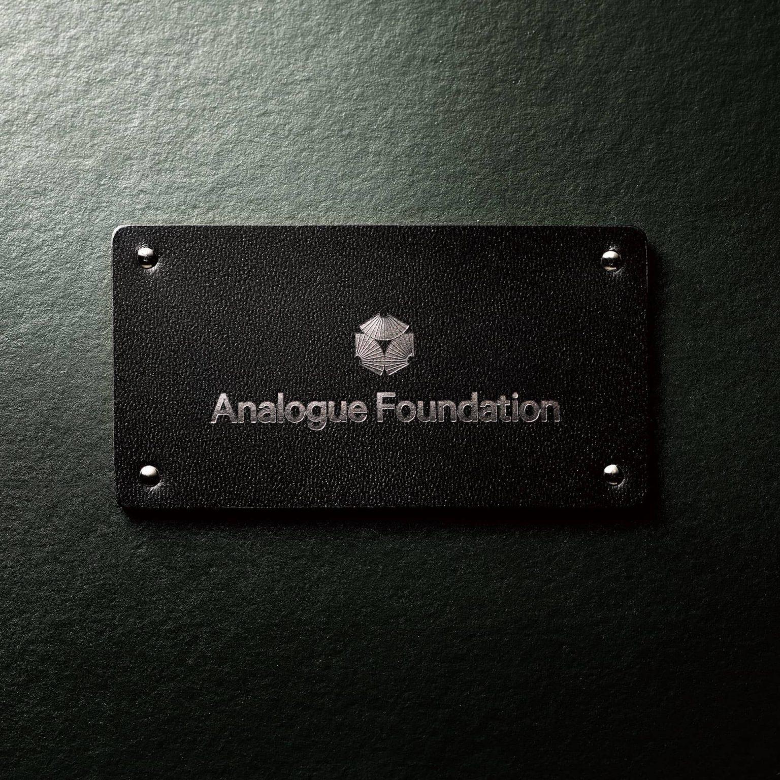 アナログとは?をテーマにした映像インタビューシリーズ by Analogue Foundation