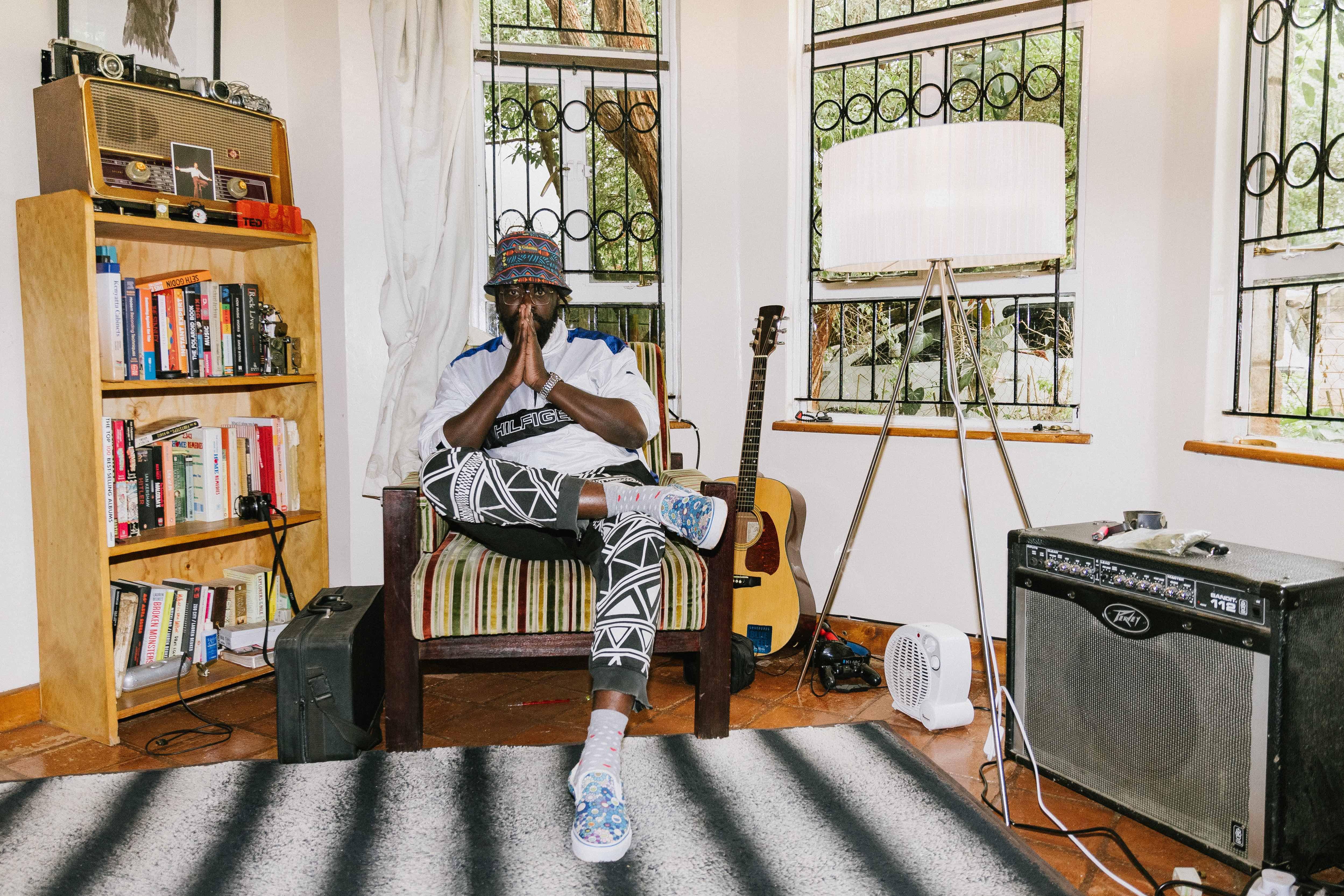 「最高に気持ちいいシャワーを浴びたときみたい」Blinky Billの地元、音と制作のインスピレーション。ケニア随一の音楽人を育むナイロビという街