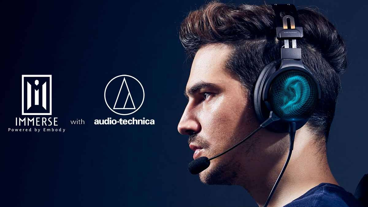 "Immerse with Audio-Technica""でリアルな没入体験"