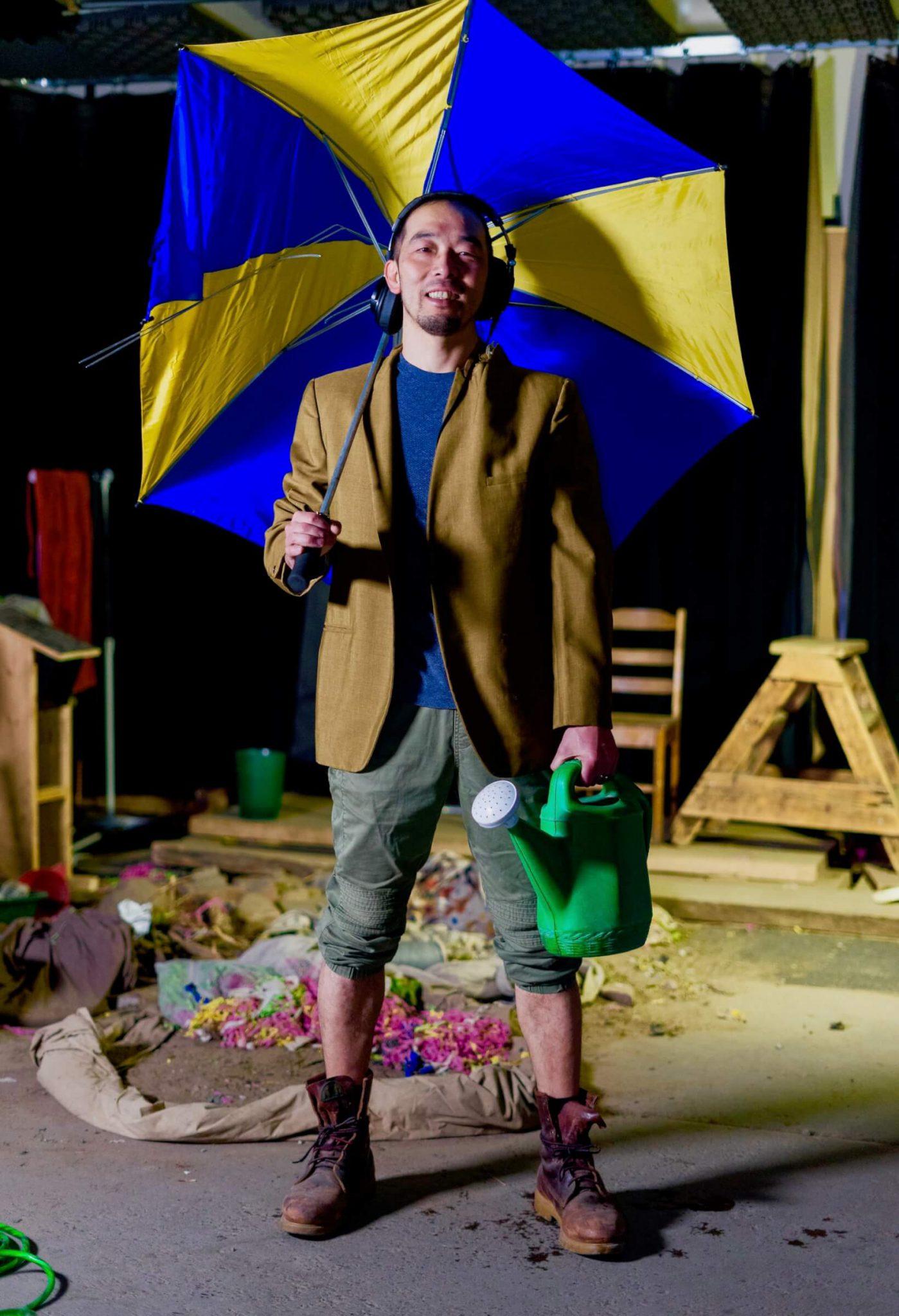 "Umbrella.-Goro-Foley-1440x2107 海を超えて出会った世界、聴こえた""音"" ――フォーリーアーティスト小山吾郎"