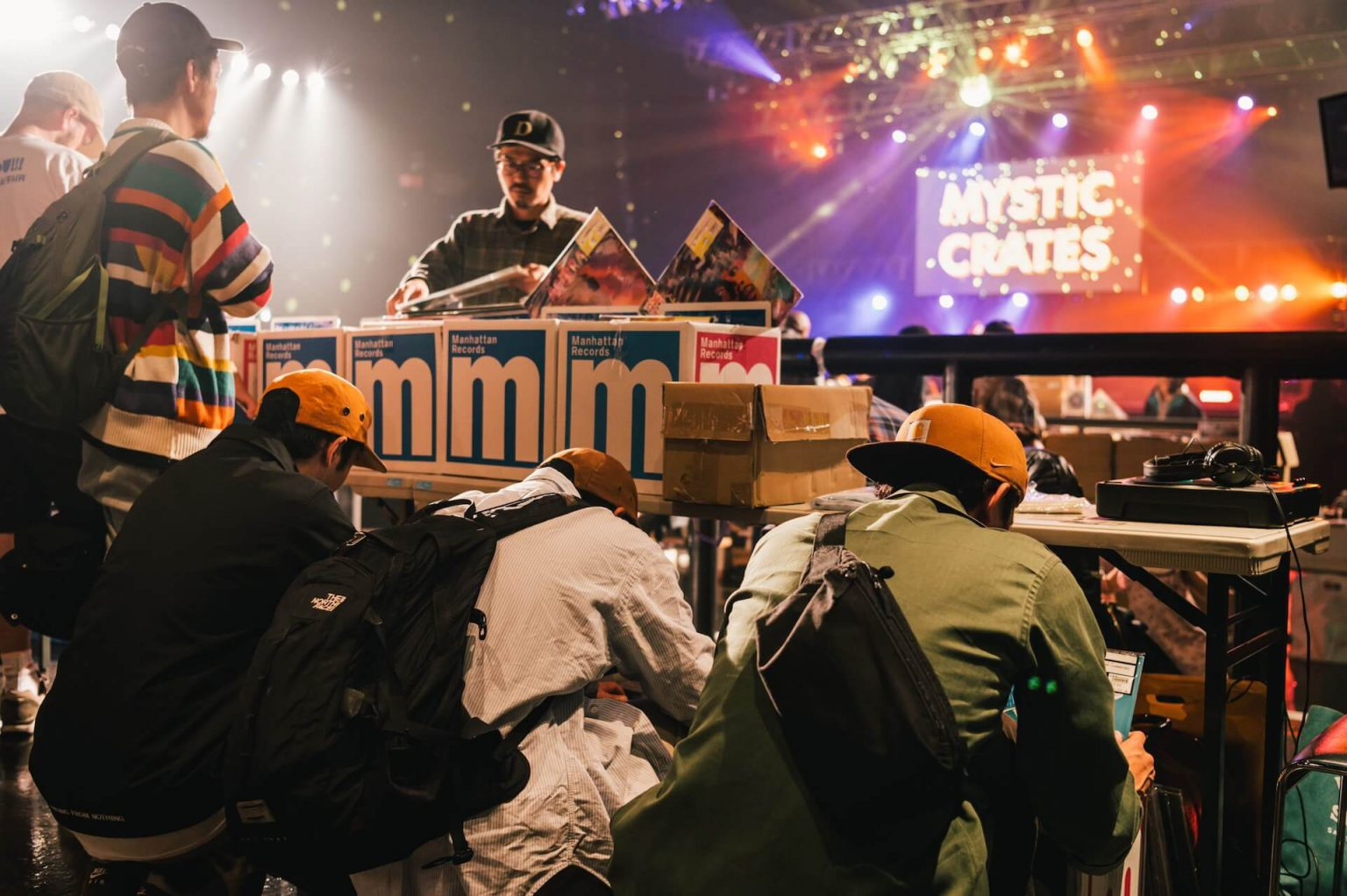 20191102_qetic-al-09-1440x959 レコード市と音楽パフォーマンスを同時に楽しめるレコード・フェス:Discogs Presents Mystic Crates