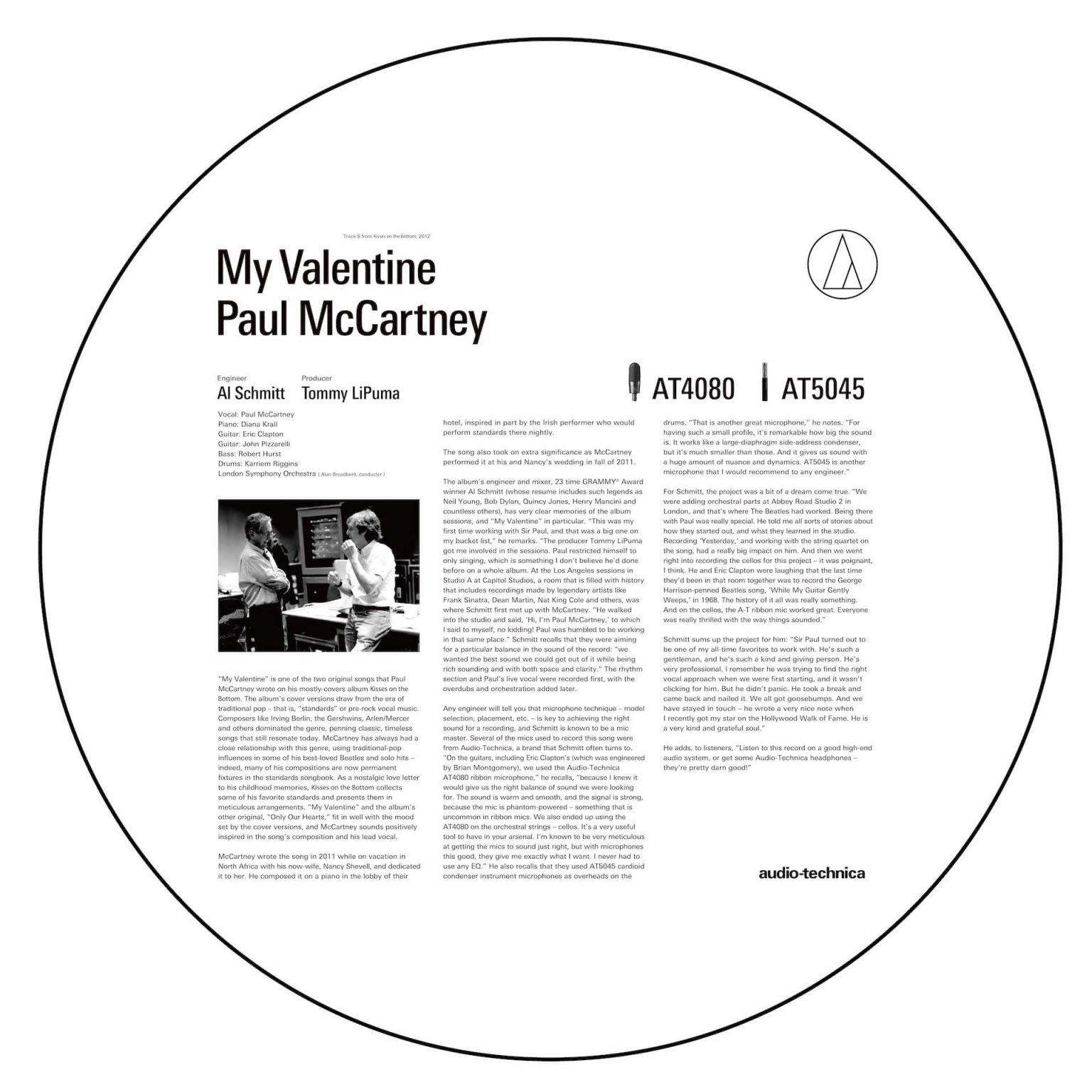 """Paul_1-1440x1440 世界で活躍するAT製品ポール・マッカートニー """"マイ・ヴァレンタイン""""編"""